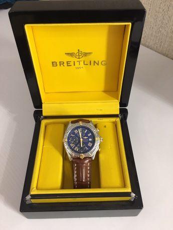 золотые часы Breitling Chronometre crosswind недорого