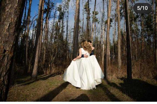 Красивое Свадебное платье 46-48 размер