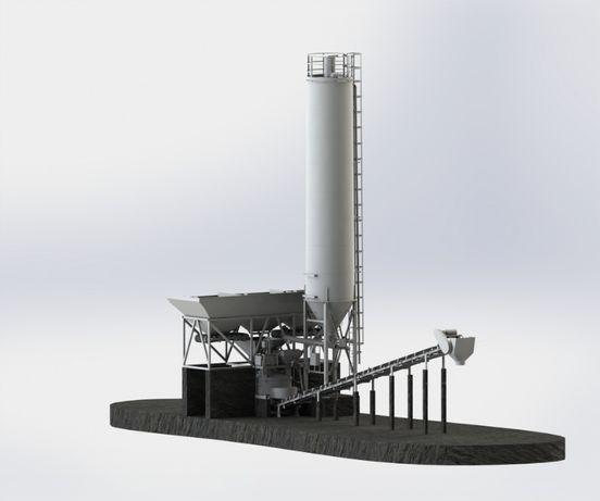 Węzeł betoniarski Carbon-50 Light, Betoniarnia