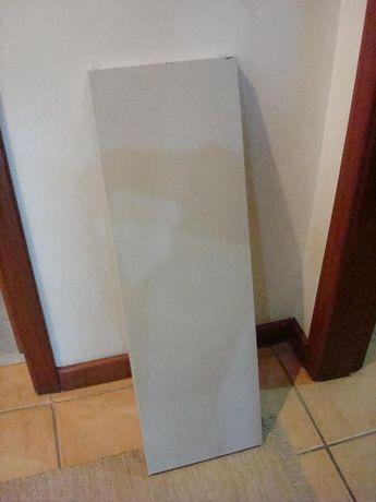 3 Prateleiras Cinza para estantes de escritório 100x30x3cm
