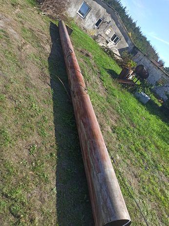 Stalowa rura 10m na 38cm grubość 0.5cm