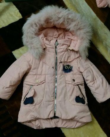 Курточка, комбинезон! На 2-3 годика, зима!