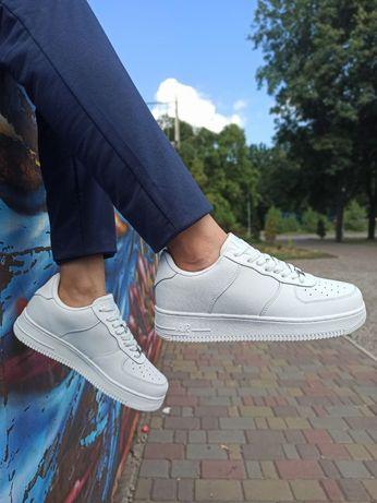 Мужские кроссовки Nike Air Force white 41-46