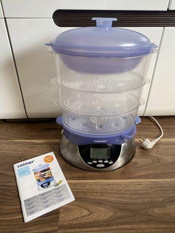 Parowar Zelmer 37ZO11 elektroniczny 3 poziomy parze miska na ryż