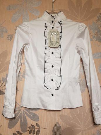 Блуза школьная Зиронька 146 см.