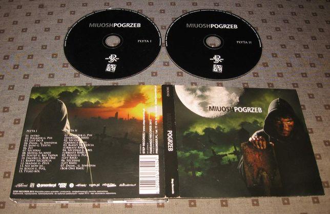 MIUOSH Pogrzeb '2013 DIGI 2 CD Słoń Peja Bonus RPK Kaliber 44 Molesta
