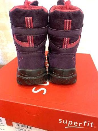 Зимние ботинки для девочки Superfit 31p