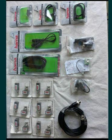 Wtyczka z transformatorem i inne CCTV do monitoringu , do kamer .