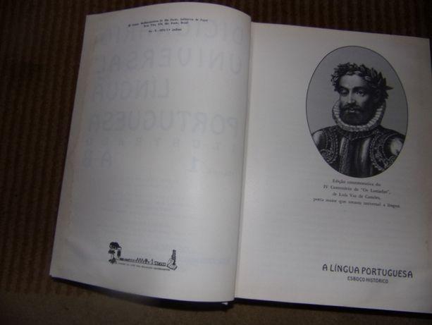 7433 - Dicionario Universal da Língua Portuguesa : ilustrado (5 Vols)