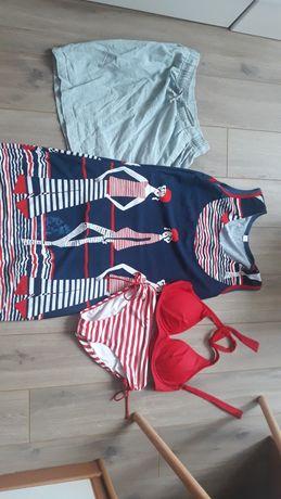 Продам лляную юбку,платье и купальник