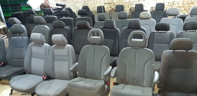Откидные сиденья сидушки RECARO для НИВА ВАЗ Виваро Рено Трафик Кенго