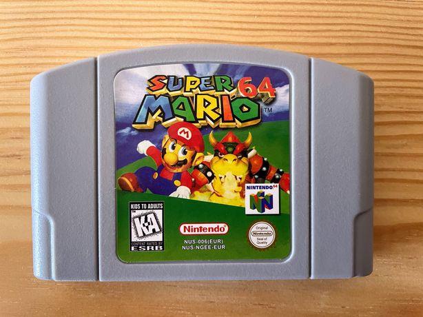 Jogo Super Mário 64