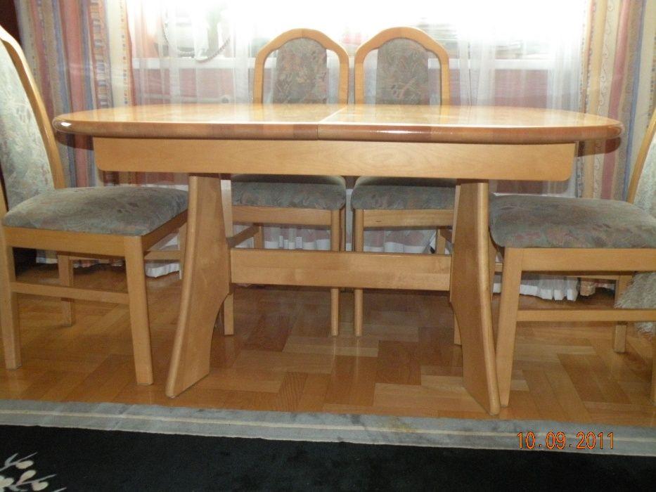 komplet mebli -stół, krzesła, komody, witryna, stolik Rtv Łódź - image 1