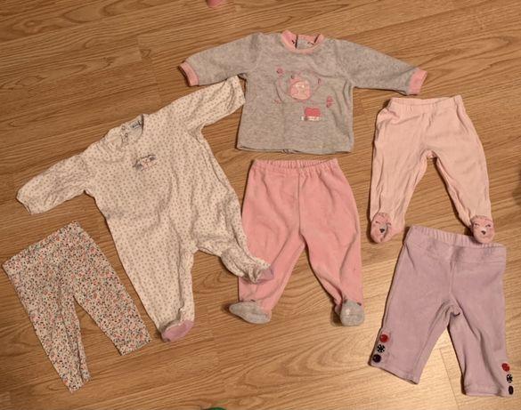Набор вещей для девочки , на 3-6 месяцев