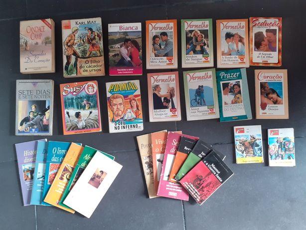 Livros antigos : susy, telenovelas...conj 28 livros