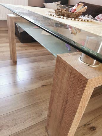 Stół szklany duży