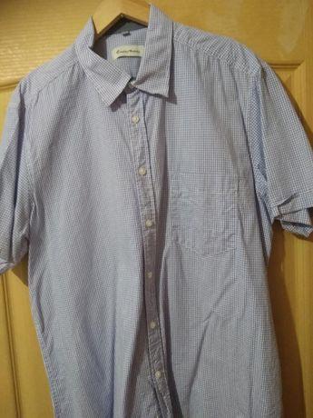 Koszula męska ENRICO MORI, krótki rękaw roz. 41/42