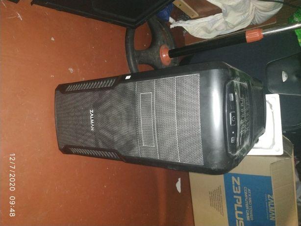 Корпус Zalman Z3 Plus Black+Блок живлення Aerocool VX-500