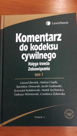 Komentarz do Kodeksu Cywilnego Księga III zobowiązania II Tomy
