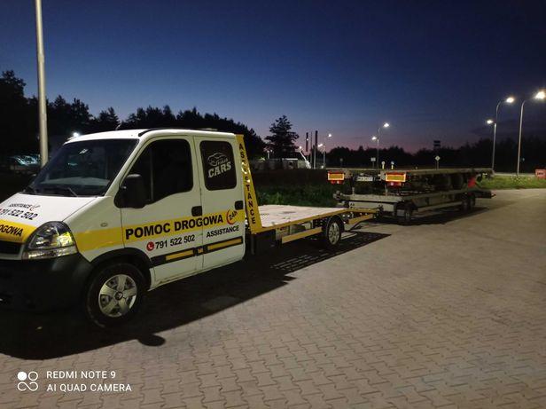 Autopomoc#Holowanie z OC #Transport maszyn rolniczych#Autolaweta#24/