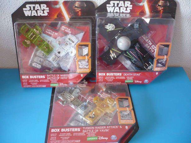 STAR WARS box busters ( Novos )
