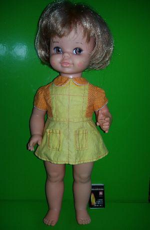 Большая винтажная кукла mexico 1971 patent pending doll из Англии