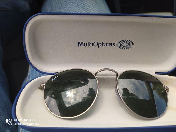Oculos ray ban sem haste
