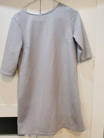 Błękitna sukienka tunika Asos rozmiar 38