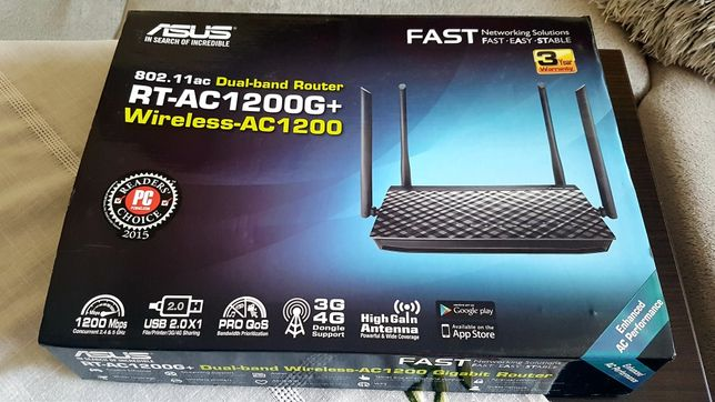 RUTER ASUS RT-AC1200g+wireless ac1200 dual band