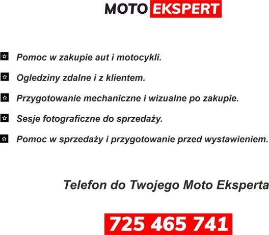 Moto Ekspert Pomoc przy zakupie Aut i Motocykli Oględziny Sprzawdzenie
