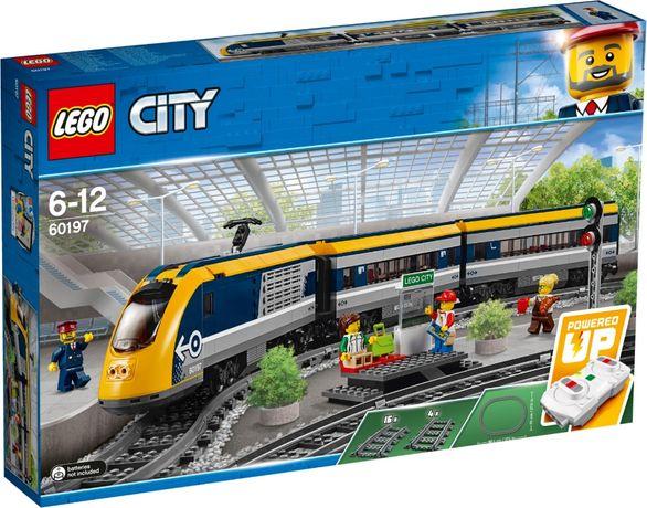 Конструктор LEGO City Пасажирский поезд (60197) Новий ! В наявності !