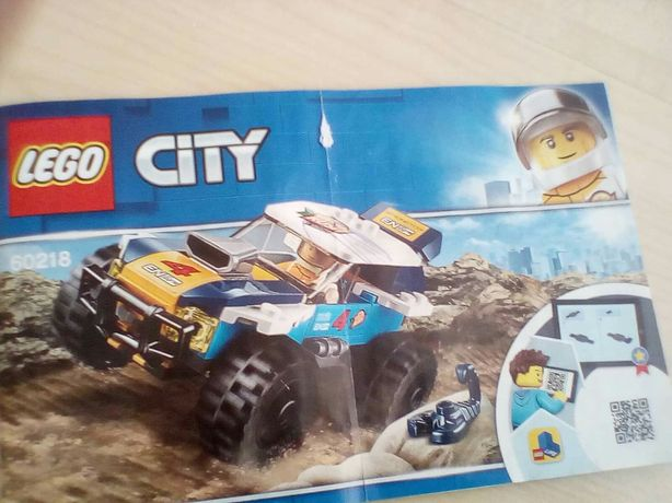 Lego City auto-klocki
