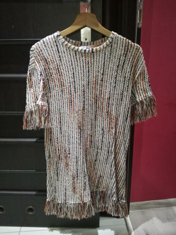 Sukienka Żakardowa Zara