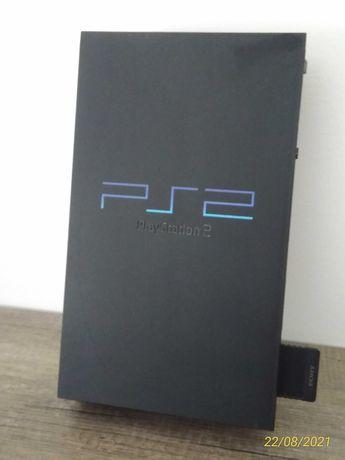 PlayStation 2 a funcionar + comando + 4 jogos