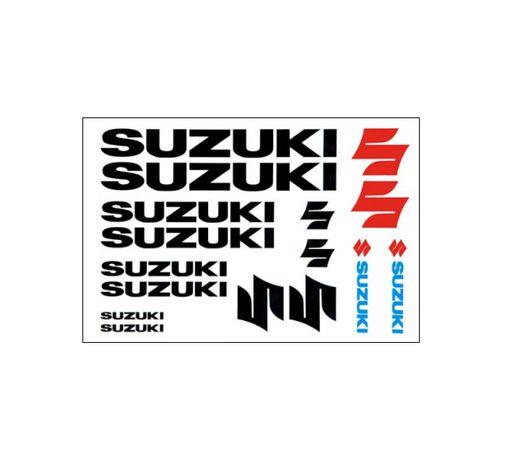 Naklejki Suzuki czarne GS500 vstrom GSX600 GSXR SV1000 Intruder DR650