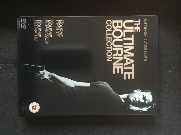 The Ultimate Bourne Collection - DVD metal