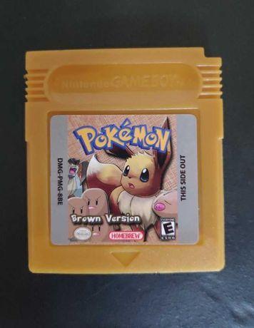 Pokemon Versão Brown - Nintendo Gameboy