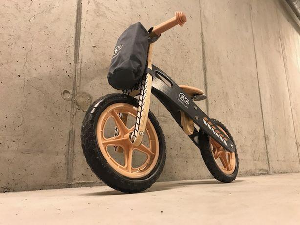 Kinderkraft, Runner Nature, rowerek biegowy z akcesoriami