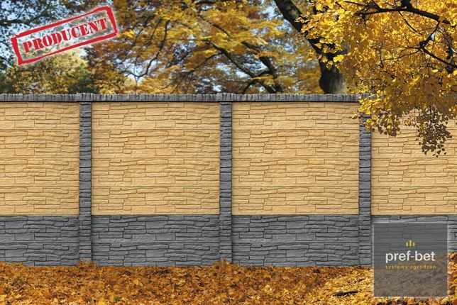 Dwustronne ogrodzenia betonowe - PIOTRKÓW TRYBUNALSKI!!!