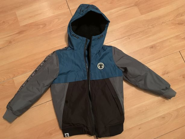 Модная Зимняя курточка куртка рост 110 116 см