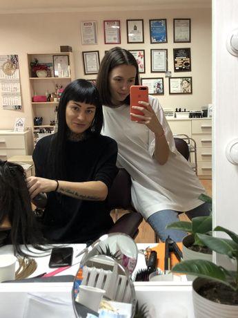 Ищем модель на бесплатное наращивание или коррекцию волос!