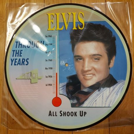 Elvis Presley, Through The Years, Vol. 4, All Shook Up, Picture Disc,