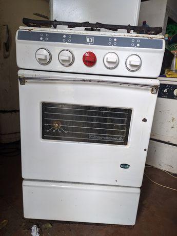 Газовая плита печь
