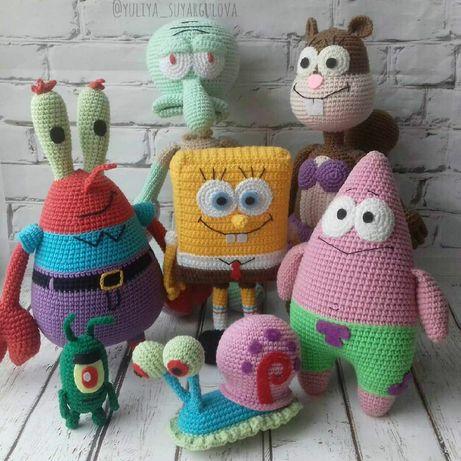 Вязаные игрушки ручной работы