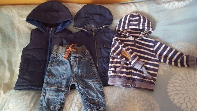 Лот джинсы ветровка желетка George