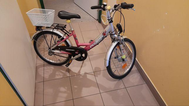 Rower  Pegasus dla Dziewczynki.