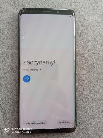 Samsung S9+, zbity dotyk! Sprawny