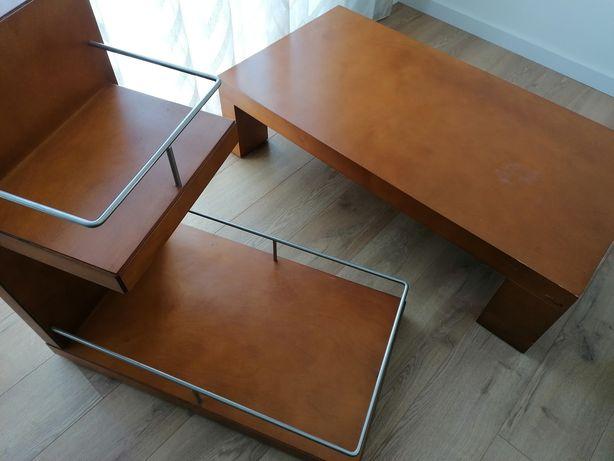 Mesa de centro + carrinho bar