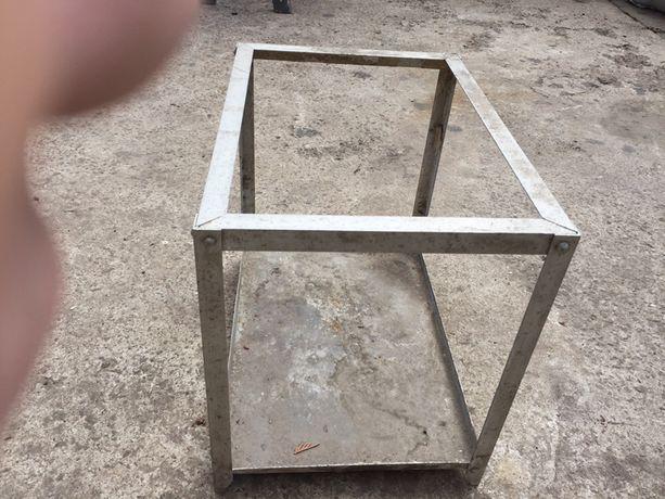 Аквариум алюминиевый без стекла