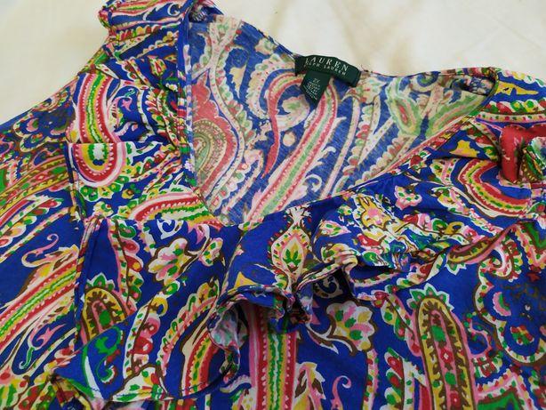 Bluzka Ralph Lauren 44 xxl żywe kolory